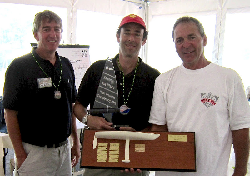 Jon Elmaleh takes first prize at 2012 RC Laser North American Championship