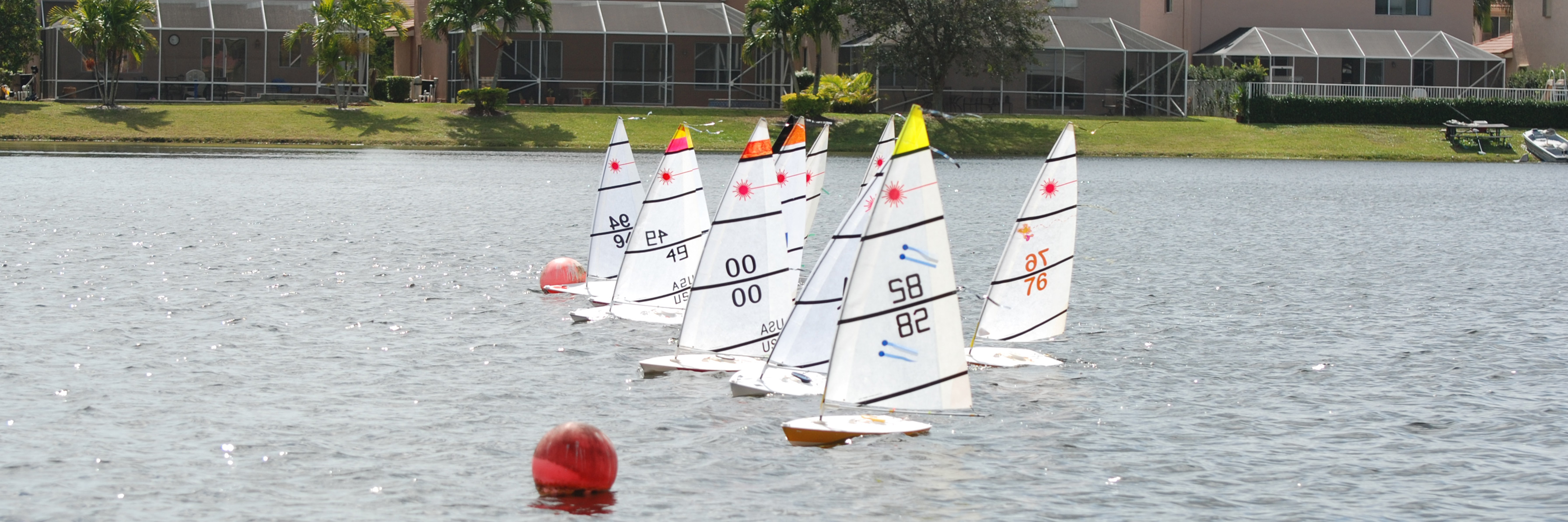 Local Loesel Wins Se Florida Winter Rc Laser Regatta Rc
