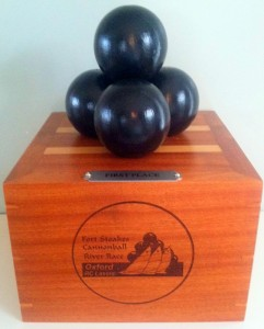 The Ft. Stoakes Cannonball River Race Trophy