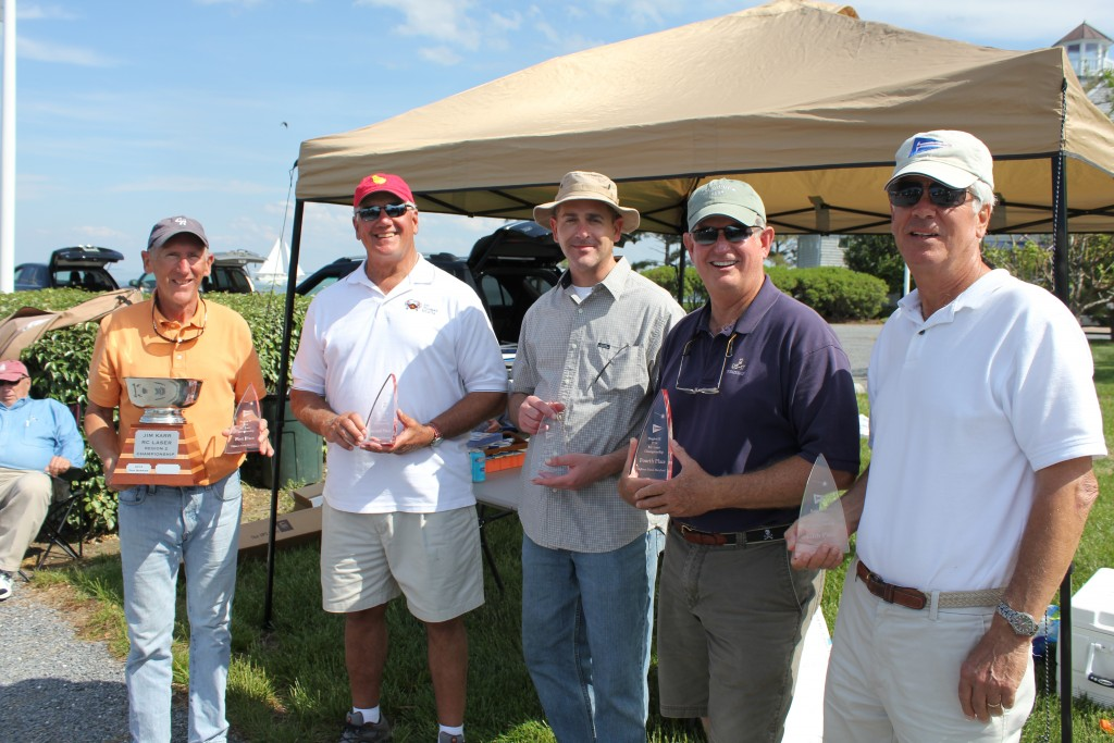 Top 5 (l to r): Don Barker, Dave Branning, Jim Flach, Bob Roe and Jim Karr
