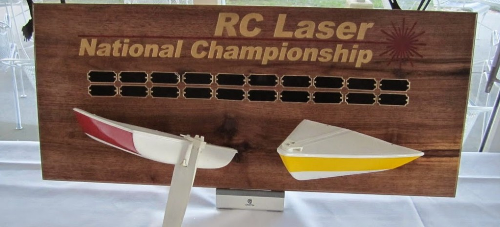 The Beautiful RC Laser National Championship Trophy